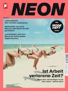 NEON Abo Cover